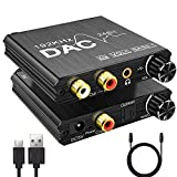 DAC Converter Volume & Bass Tone Control 192Khz...