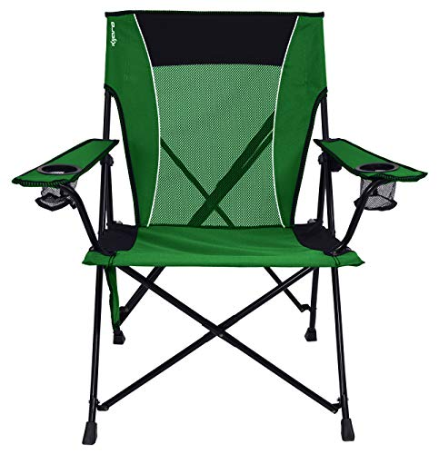 Kijaro Dual Lock Portable Camping and Sports Chair, Jasper Green