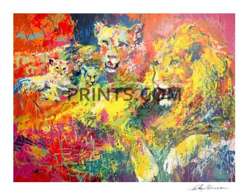 LeRoy Neiman - Royal Family Hand Signed by LeRoy Neiman Serigraph