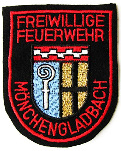 Freiwillige Feuerwehr - Mönchengladbach- Ärmelabzeichen - Abzeichen - Aufnäher - Patch - Motiv 1