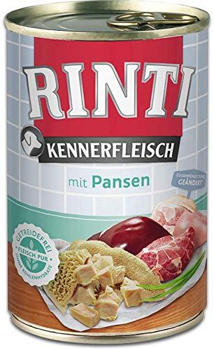 Rinti Kennerfleisch mit Pansen, 24er Pack (24 x 400 g)
