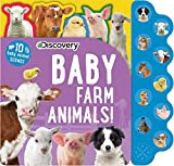 Best Books For Babies Animal Sounds - Discovery: Baby Farm Animals! (10-Button Sound Books) Review