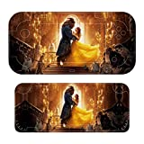 Movie B-eauty Be-AST Stickers Decals Cover for Switch Lite Gaming Skin Compatible for Switch Controller,Durable Full Set Wrap Protective Faceplate Console