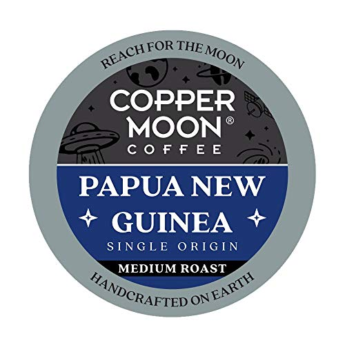 Copper Moon Papua New Guinea Origin, Medium Roast Coffee Pods Compatible with Keurig K-Cup Brewers, 12 Ct. (292273)