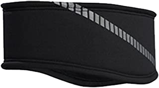 TrailHeads Mens Reflective Running Headband | Moisture Wicking Ear Warmer