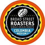 Broad Street Roasters Single Origin Coffee, Colombia, Compatible with 2.0 K-Cup Brewers, 100 Count