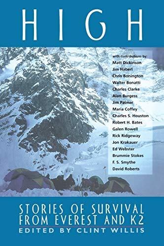 High: Stories of Survival from Everest and K2 (Adrenaline Books)