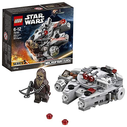 LEGO- Star Wars Microfighter Millennium Falcon, Multicolore, 75193