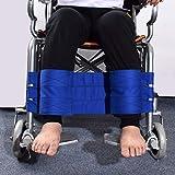 Correas para piernas de silla de ruedas, reposapiés de sujeción para silla de ruedas, cinturón de soporte médico para pies - Cinturón de tela de alta calidad para piernas para ancianos discapacitados