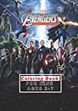 Marvel Avengers Coloring Book For Kids Ages 3-7: 50 Premium Coloring Pages For Kids And Adults / Avengers Coloring Book High Quality