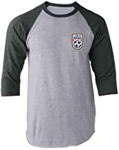 USA Soccer Apparel Retro National Team Jersey Raglan Baseball Tee Shirt
