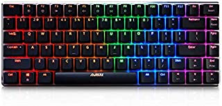 AJAZZ Wired RGB Backlit Black Switches 82 Mechanical Keyboard BacklitAJAZZ Wired RGB Backlit Black Switches 82 Mechanical Keyboard Backlit(RGB Version Has Been Restock Sorry for Previous Mistakes)