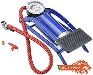 EEON Indian High Pressure Foot Pump, Air Tyre Inflator, Air Pump Compressor for Bike Car Cycles Toys and All Vehicles Made...
