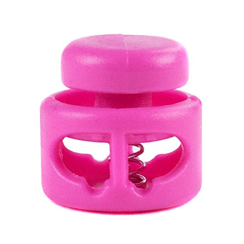 Choose from 5 10 PARACORD PLANET Double Barrel Cord Lock Draw String Toggle Stopper and 20 Pack Sizes