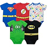 Justice League Baby Boys' 5 Pack Superhero...