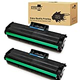 MIROO Compatible Toner Cartridge Replacement for Samsung MLT-D101S MLTD101S 2 Black,Use on Samsung SCX-3405W ML-2165W SCX-3405FW ML-2161 ML-2166W ML-2160 ML-2165 SCX-3400 SCX-3401FH SF-761P Printer