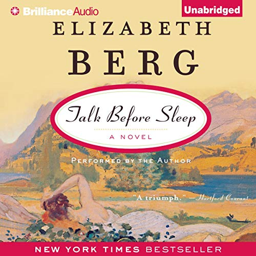 Talk Before Sleep audiobook cover art