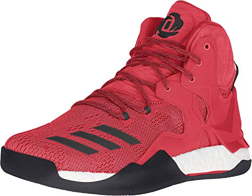 adidas Performance Herren D Rose 7 Basketballschuh, Rot (Scarlet/Black 1/White), 48 EU