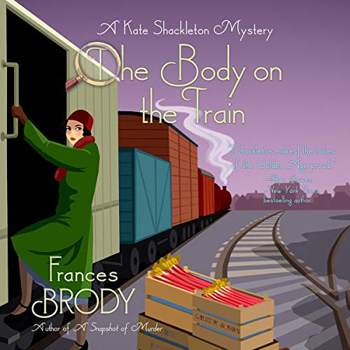 The Body on the Train audiobook cover art