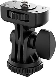 VIJIM Hot Shoe Mount Adapter for Cameras, Camcorders, Smartphone, Gopro, LED Video Light, Microphone, Video Monitor, Tripo...