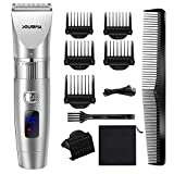 SOLIMPIA Hair Clippers for Men Cordless Professional Barber Salon Hair Trimmer Grooming Cutting Kit Waterproof USB Rechargeable