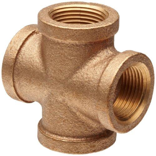 Brass Pipe Fitting, Class 125, Cross, 2