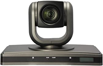 DaFei HD Web Camera, HD 1080p/30fps Video Calling USB Plug and Play Rotatable Video Webcam (Color : Black)
