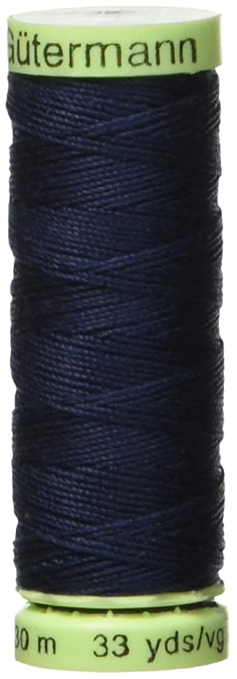 Gutermann Top Stitch Heavy Duty Thread 33 Yards-Navy