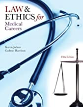 Law & Ethics for Medical Careers by Judson, Karen Published by McGraw-Hill Science/Engineering/Math 5th (fifth) edition (2009) Paperback