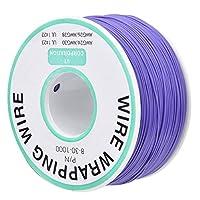 ラッピングワイヤー、耐久性のある紫色のジャンパーワイヤー、信頼性の高い酸化防止安定マザーボードLCDスクリーンモニターノートブック用