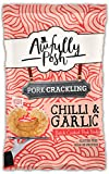 Awfully Posh | Chilli and Roasted Garlic Pork Crackling | Keto Snacks | 12 X 40G