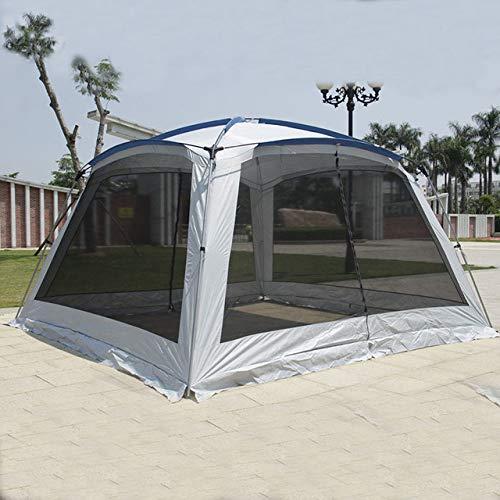 BOOSSONGKANG Tienda, 2020 5-8 Persona365 * 365 * 210CM Gazebo Grande Sun Shelter Tienda, de campaña Carpas De Camping Beach Tent, C