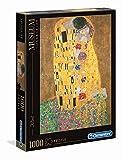 Clementoni- Klimt-Il Bacio Gustav Museum Collection Puzzle, Colore Neutro, 1000 Pezzi, 31442
