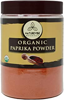 Naturevibe Botanicals Organic Paprika Powder, 1lb | Non-GMO and Gluten Free | Rich in Antioxidant | Indian Spice