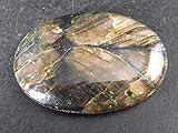 The Russian Stone La Pietra Russa Andalusite cabochon in Chiastolite dalla Cina, 3,1 cm
