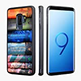 for Samsung Galaxy S9 Plus Case,VONDER Harry Potter Book Tough Anti-Skid TPU Phone Cases for Samsung Galaxy S9+ Cover
