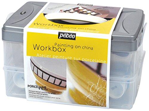 Pebeo 758403 Porcelaine 150 10-er Set 45 ml