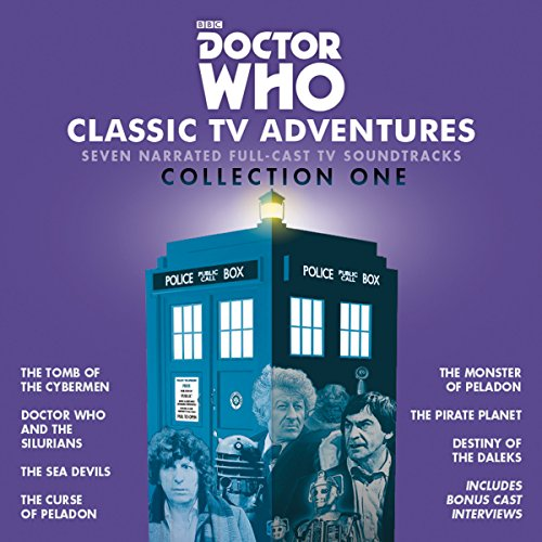 Doctor Who: Classic TV Adventures Collection One audiobook cover art
