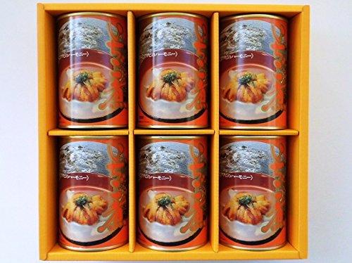 みなみや いちご煮 415g×6缶入 【ウニとアワビの潮汁】 青森県郷土料理 ご贈答用化粧箱 『北のたより』に詰めてお届け致します。