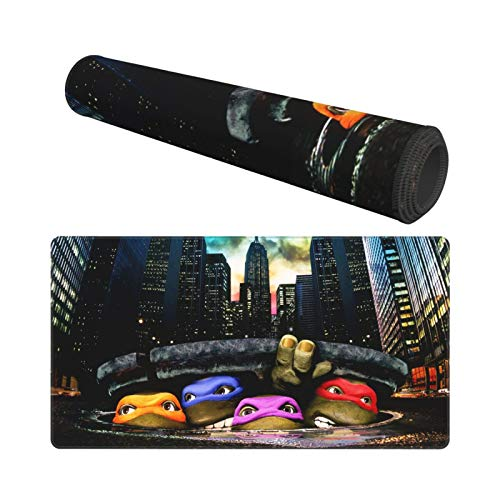 """Mouse Pad Nin.Ja Turtles Large Gaming Mousepad Extended Desk Mat Ultra Thick Mousepad for Office Gamer Home 29.5""""X15.8"""" Photo #6"""