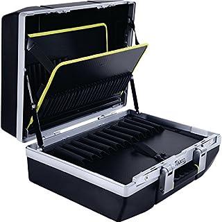 """RAACO 143387caja de herramientas""""Basic tamaño XL con TSA Lock en color negro"""