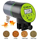 Torlam Automatic Fish Feeder, Moisture-Proof Electric Auto Fish Feeder,Aquarium Tank Timer Feeder Vacation