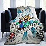 Sunny Rainy Day The Marvelous Misadventures of Flapjack Super Soft Sheep Blanket, Suitable for Adults Or Children's Sofa Or Bed