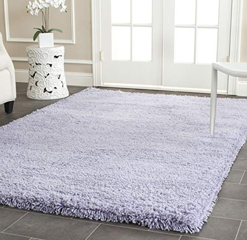 Safavieh Ultra Classic Shag Collection SG140L Handmade Solid 2.3-inch Thick Accent Rug, 2' x 3', Lilac