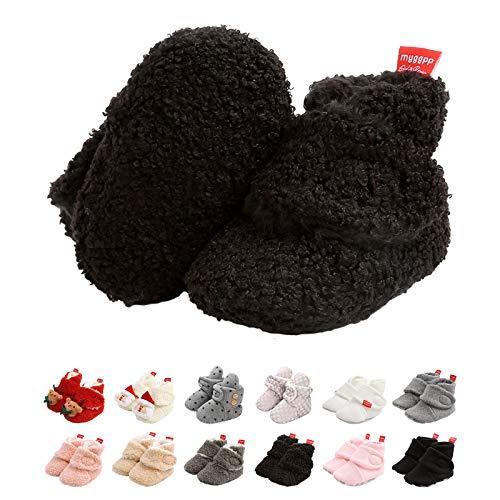 Botas de Nio, Zapatos para bebs Lindo Invierno Calcetn Invierno Soft Sole Crib Raya de Caliente Boots de Algodn para Bebs 0-18 Meses