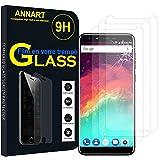 AnnaRT® [3 piezas Protector de pantalla de cristal templado para Ulefone Mix 2 4G 5.7' – Transparente