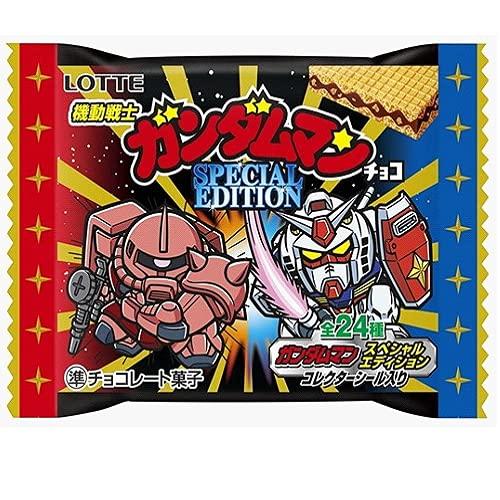 ロッテ ビックリマンチョコ 機動戦士ガンダムマンチョコ スペシャルエディション 1箱(30個)