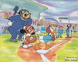 grenada baseball stamps