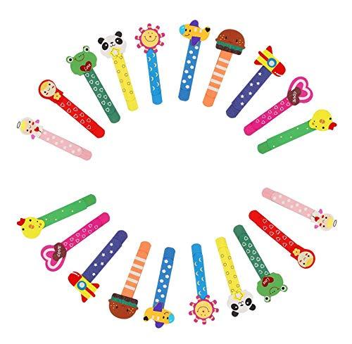 20 PCS Holz Cartoon Lesezeichen, Niedlichen Tier Lesezeichen für Kinder Kinder Jungen Mädchen, lustige Neuheit Lineal Buch Marker für Studenten.