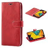 Mulbess Samsung Galaxy A20 Case Wallet, Leather Flip Phone